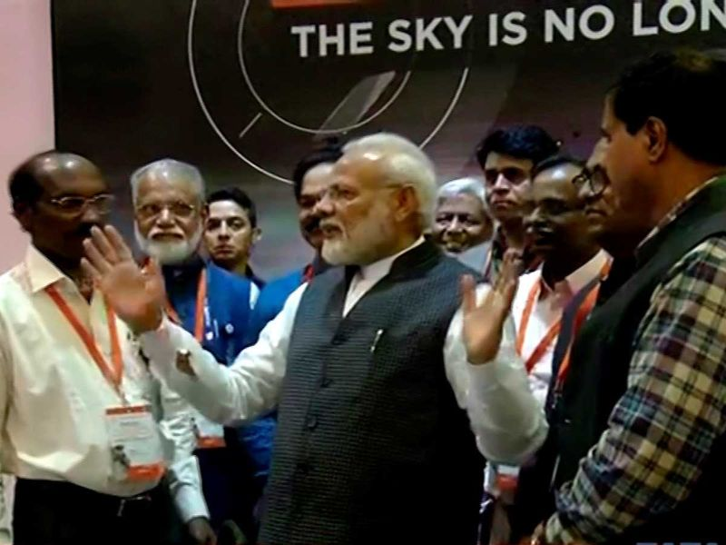 Modi with Sivan