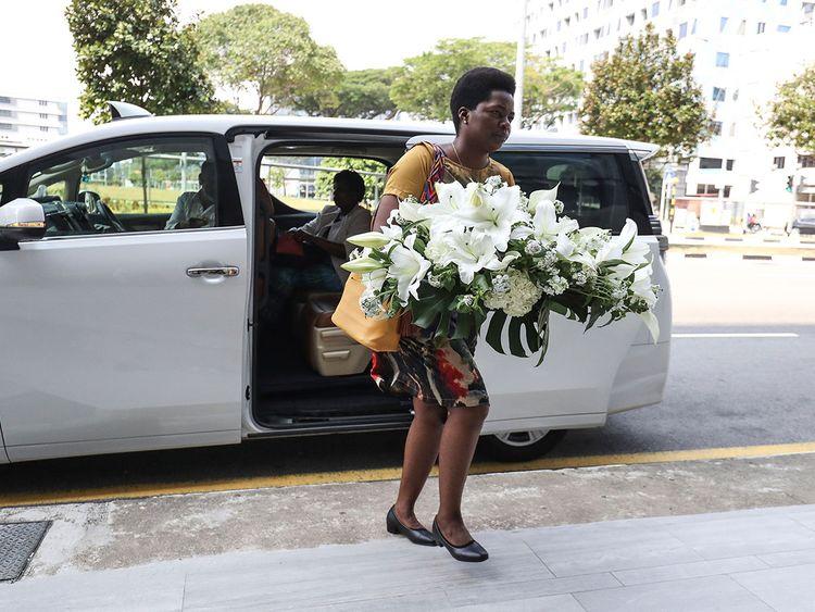 Singapore Casket funeral parlor Mugabe