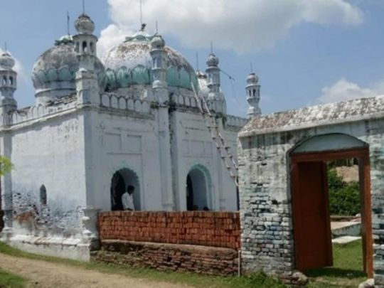 A Maadhi village priest said the mosque is cleaned and prayers are offered every morning and evening