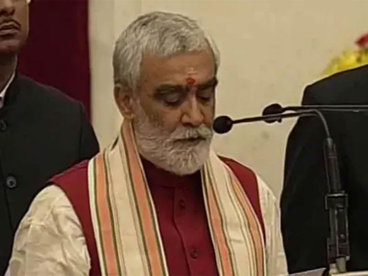 Indian Health Minister Ashwini Kumar Choubey is working on