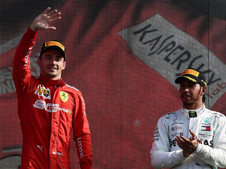 Ferrari's Monegasque driver Charles Leclerc