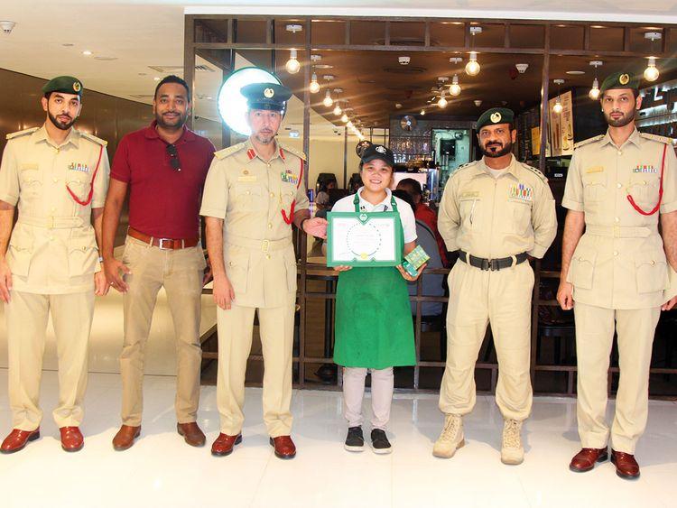Image result for Filipina Starbucks worker in Dubai Mall honoured for her honesty
