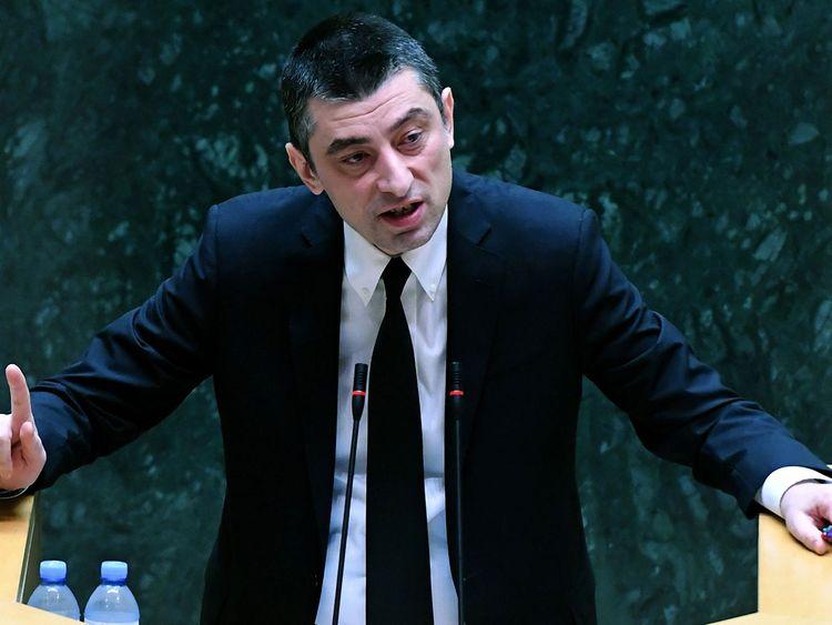 New Georgian Prime Minister Giorgi Gakharia