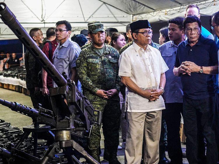 Philippine's President Rodrigo Duterte