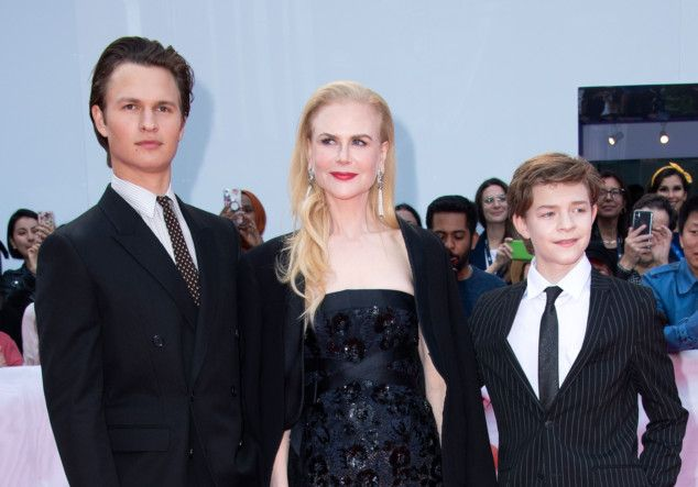 TAB 190909 Nicole Kidman AND Oakes Fegley AND Ansel Elgort1-1568017204332