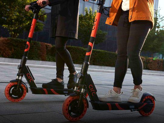 Three Abu Dhabi communities to use e-scooters