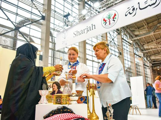 Sharjah concludes participation at Moscow book fair