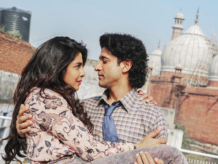 Farhan Akhtar and Priyanka Chopra in The Sky Is Pink 1-1568108846582
