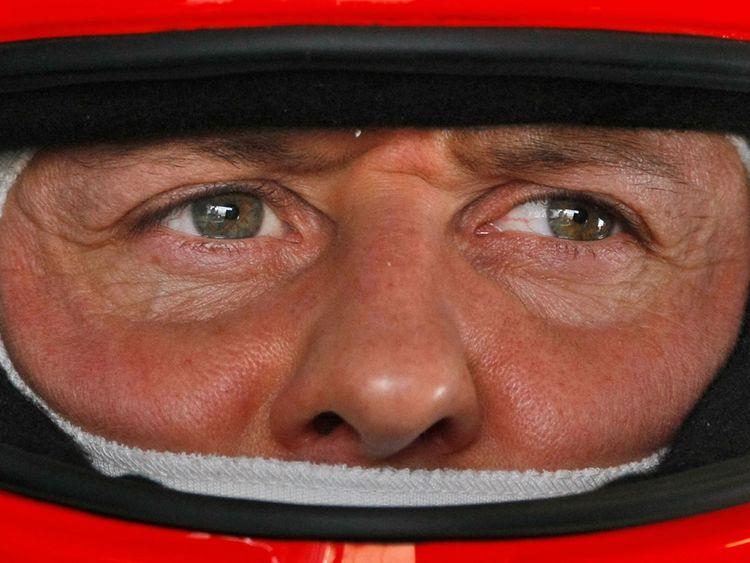 Grand Prix driver Michael Schumacher