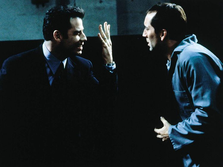 Nicolas Cage and John Travolta in Face Off-1568106945193