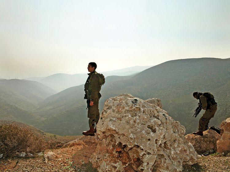 190911 israeli occupation soldiers