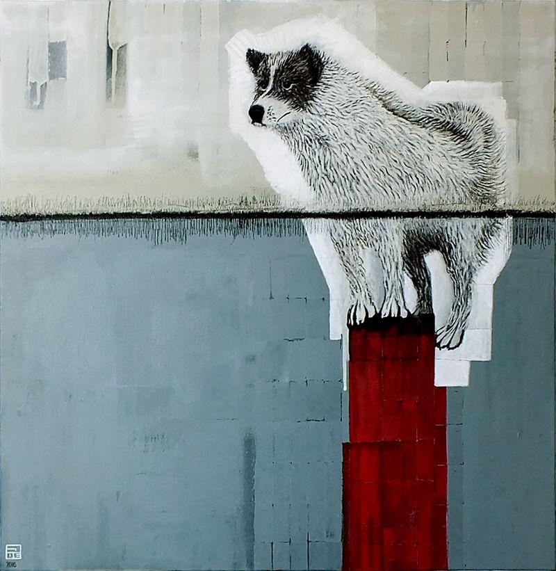 Jose Luis Barros Chaparro' painting.