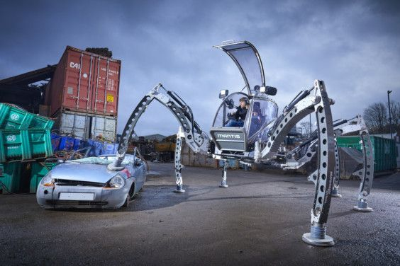 Mantis - Largest Rideable Hexapod-0043-1568210718595