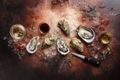 Oysters and Pearl - Noir-1568212334747