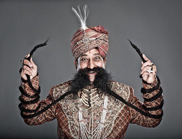 Ram Singh Chauhan - Longest Moustache_190-1568210714511