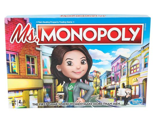 Monopoly launches board game with female character