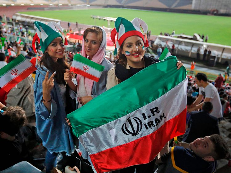 190912 Women football Iran