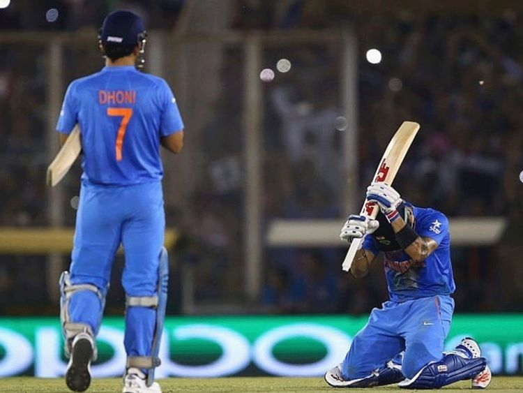 M S Dhoni Made Me Run Like A Fitness Test Says Virat Kohli