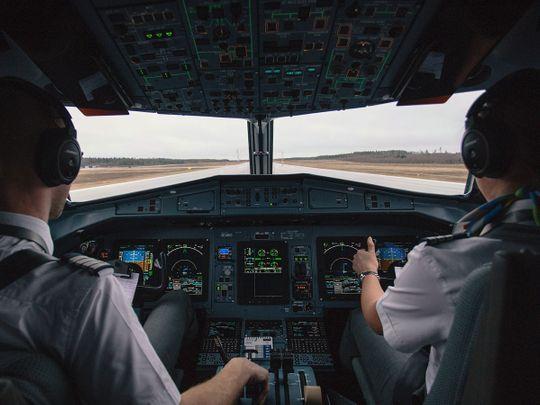 plane cockpit generic