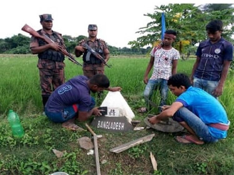 Bangladesh border posts 20190913
