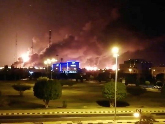 Aramco contains fire at oil sites after militia attack