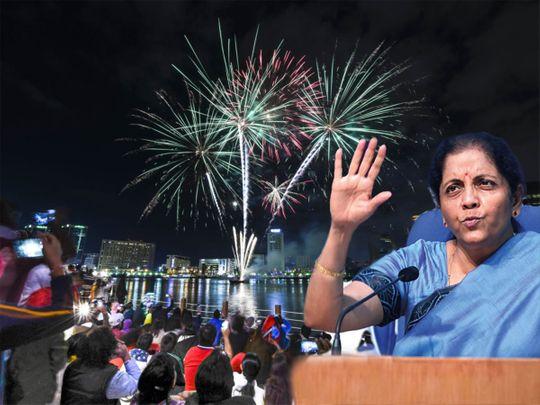 DSP Nirmala Sitharaman