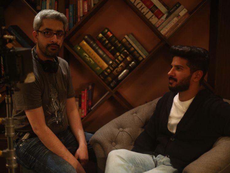 Le réalisateur Abhishek Sharma et Dulquer Salmaan-1568465776386