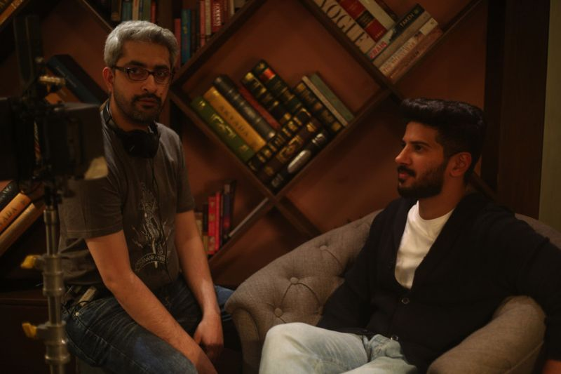 Director Abhishek Sharma and Dulquer Salmaan-1568465776386