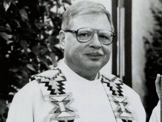 Father Arthur Perrault in Albuquerque, N.M.