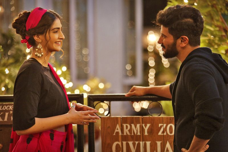Sonam Kapoor Ahuja and Dulquer Salmaan in The Zoya Factor-1568465785055