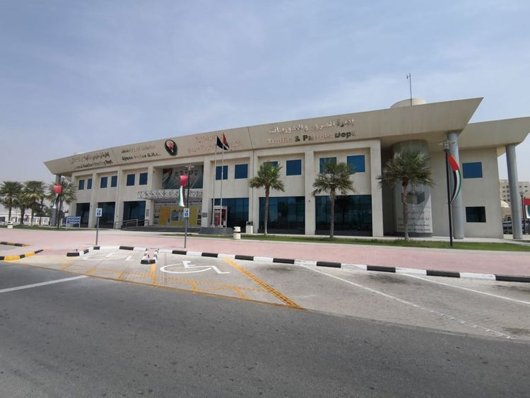 Traffic and Licensing Centre in Ajman
