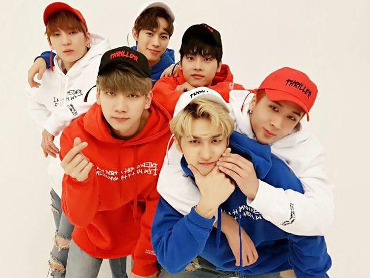 VIXX - Clockwise from left- Leo, N Hongbin, Ravi, Ken and Hyuk-1568463765856