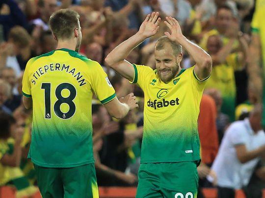 Norwich City's Finnish striker Teemu Pukki