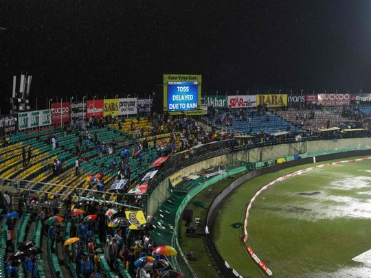 Rain washes out first India-South Africa T20