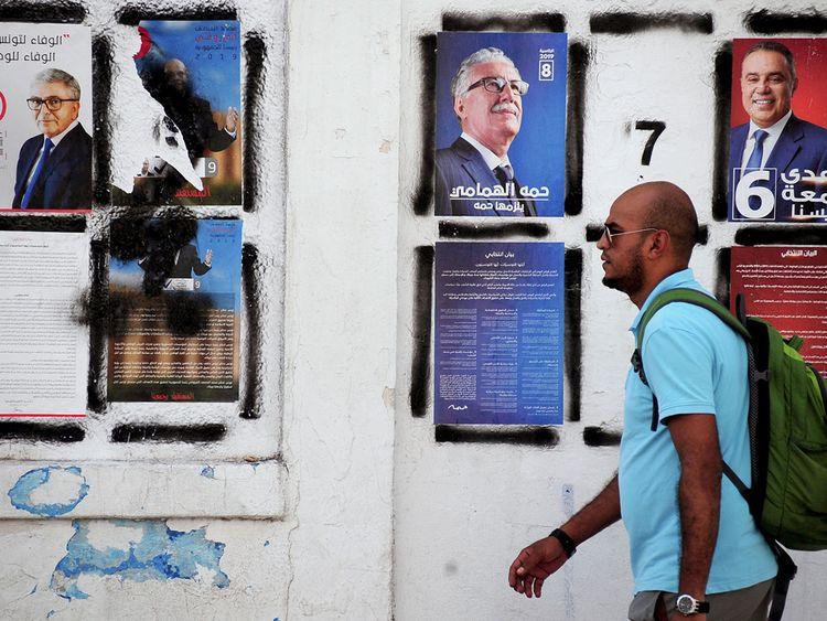 Tunis polls