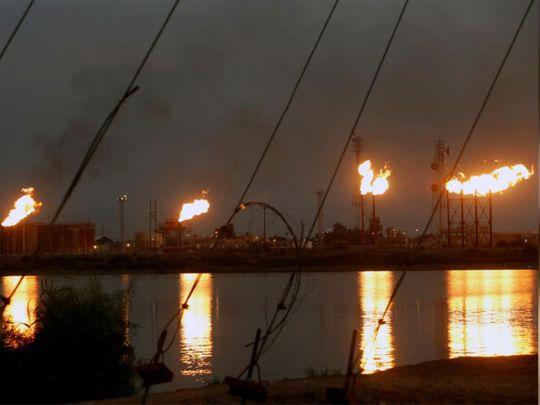 Nahr Bin Umar oil field, north of Basra 012121