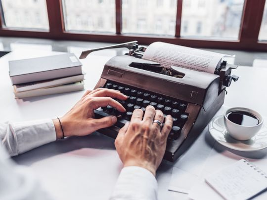 Off the cuff: The way of the typewriters