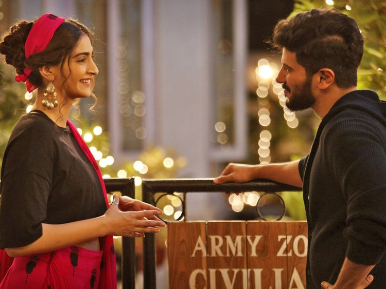 Sonam Kapoor Ahuja and Dulquer Salmaan in The Zoya Factor1-1568619780168