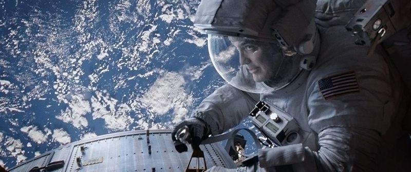 George Clooney in Gravity-1568704934403