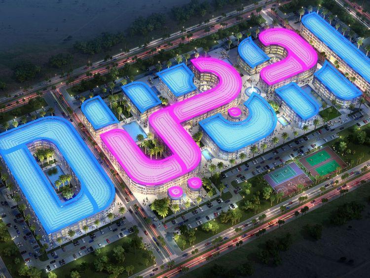 Dubai Brand logo