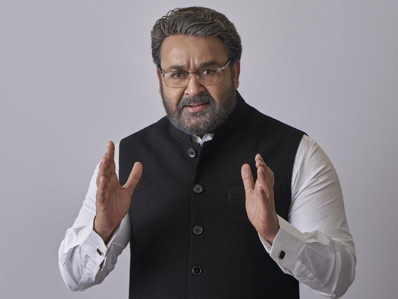 Mohan Lal as Prime Minister in Kaappaan-1568792943827