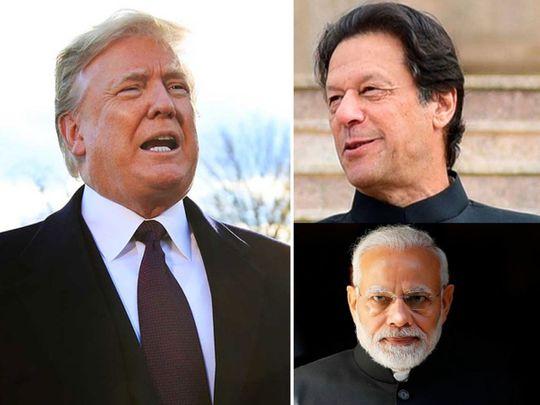 Trump Modi Imran