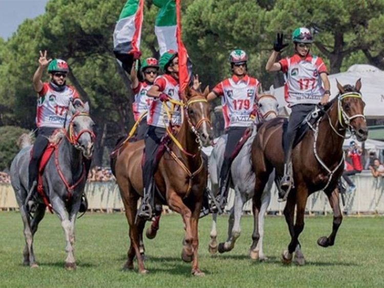 UAE riders reign supreme at endurance championship in Italy on Thursday
