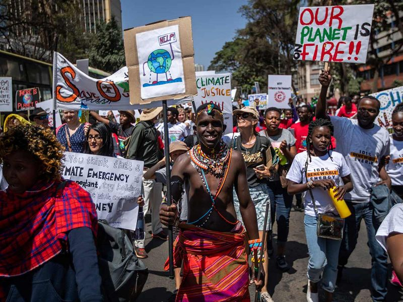Climate Protesters in Kenya 20190920
