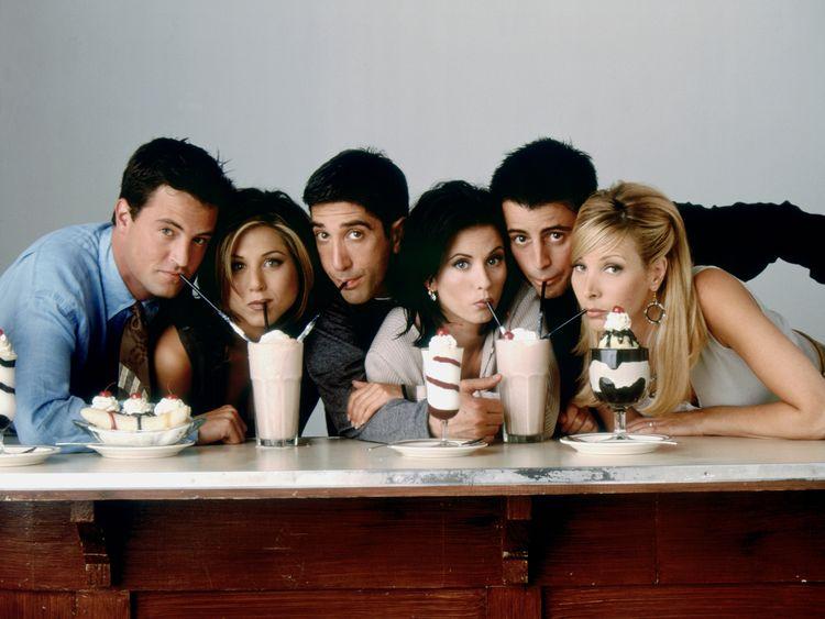 A still from 'Friends'.