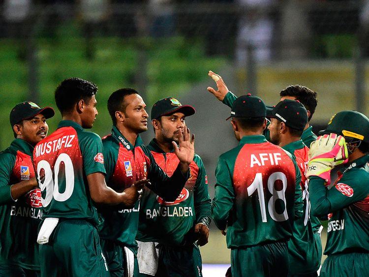 Bangladesh's captain Shakib Al Hasan