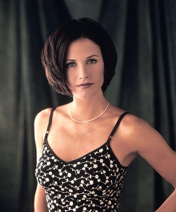 Courteney Cox as Monica Geller.