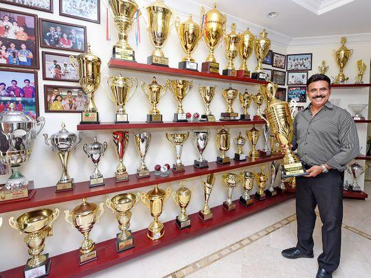UAE cricketer Parvez Ahmad