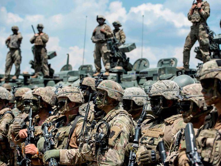 US troops will be deployed in Saudi Arabia 02121