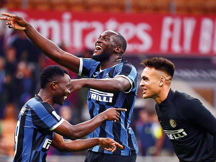 Inter Milan's Kwadwo Asamoah